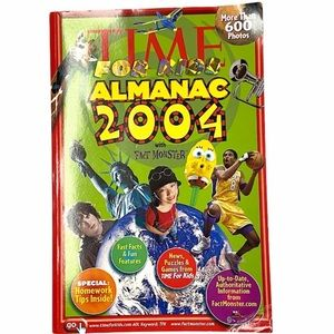 Education Book Time For Kids Almanac 2004 Used